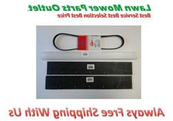 Snow Blower Paddle Scraper Bar Belt Set for Toro S200 S620 2