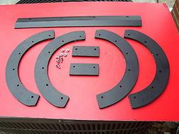 SNAPPER  SNOW BLOWER PADDLES , SCRAPER & HARDWARE , MOD-3200