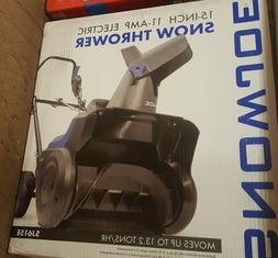 Snow Blower SJ615E 15-Inch 11-Amp Electric Powerful 2 Blade