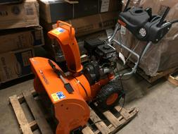 snow blower thrower yb6770 gas powered electric
