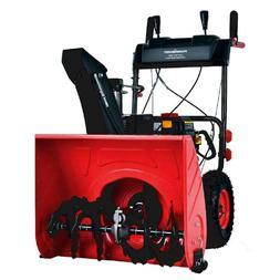 PowerSmart Snow Blower Two Stage Gas Heavy Duty Steel 212 cc