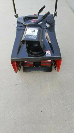 Snow Thrower  Yard Machines 123cc 21-Inch Single Stage Gas