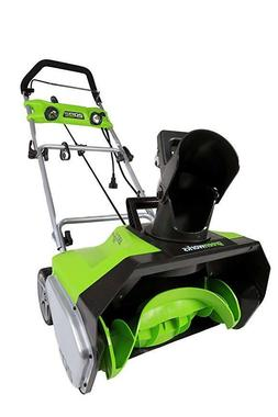 Snow Thrower Blower Stage Electric 20 Inch Snowblower  13 Am