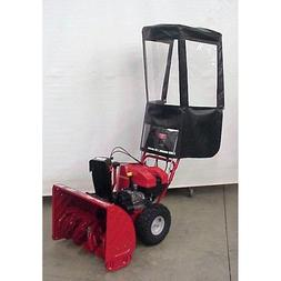 Snow Thrower Cab For Walk Behind Snow Blowers