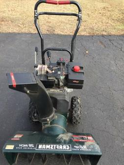 Craftsman Snowblower, Used in good working condition. 9 HP .