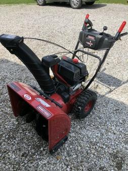 snowblower used in good working condition 9