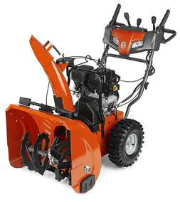 "Husqvarna ST224 24""In 208cc 2 Stage Elec Start Gas Powered S"
