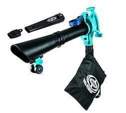 Snow Joe Vacuum/Mulcher, Blue  Sun Joe SBJ605E-BLU-RM 14-Amp