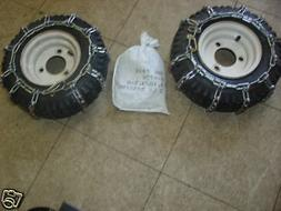 Tire Chains FITS Ariens Toro MTD Lawnboy Jacobsen Snowblower