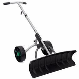 """Adumly Size 10"""" x 3"""" tires Snow Shovel Removal Blade Wheels"""