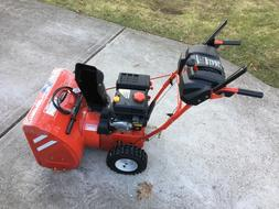 Troy Bilt 24inch electric start self propelled  gas engine 6