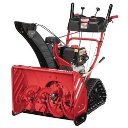Troy Bilt Electric Start Gas Snow Blower Thrower 277Cc Two S