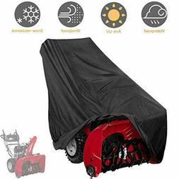 Tvird Snow Thrower Cover, 300D Two Stage Snow Blower Cover W