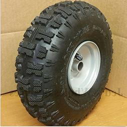USA Premium Store TWO 4.10-4 Snow Blower Thrower TIRE RIM WH