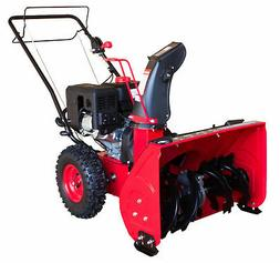 PowerSmart Two-Stage Electric Start Gas Snow Blower Self Pro