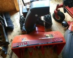 used 2 stage snow blower, MTD, electric start, 5/24