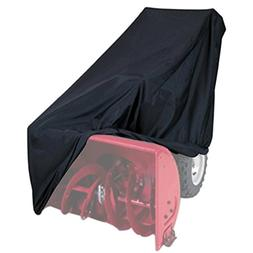 NKTM All Weather Two-Stage Snow Thrower Cover with Storage B