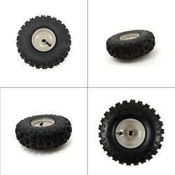 "Set of 2 MTD Wheel Assembly 10"" X 4"" Steel Rim Tire 934-0428"