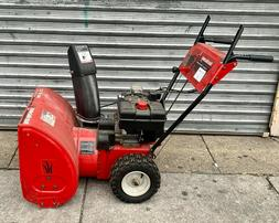 "Yard Machine by MTD 24"" 8HP Electric Start  Snow Blower *NO"