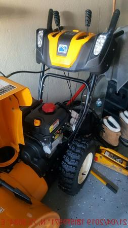 YARDMAX Gas Snow Blower Thrower 26 In Two Stage Electric Sta